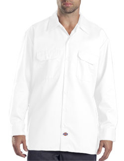 Dickies Adult 5.25 Ounce Long Sleeve Work Shirt