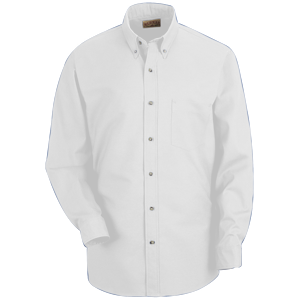 RedKap Men's 4.25 Ounce Long Sleeve Poplin Work Shirt
