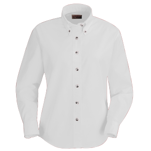 RedKap 4.25 Ounce Ladies Long Sleeve Poplin Work Shirt